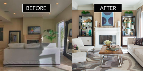 Before + After: A Traditional Beach House Gets A Cosmopolitan Makeover