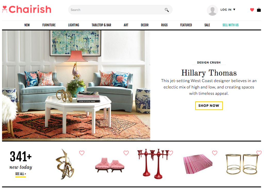 Genial Chairish Is A National Online Marketplace And App For Buying And Selling  Home Goods. Trustworthy And Highly Curated, The Site Features Vetted,  Hard To Find ...