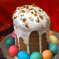 "<p>In Orthodox Christian countries such as Bulgaria, Georgia, and Russia, priests bless this sweet bread after Easter <a href=""http://www.themoscowtimes.com/arts_n_ideas/article/kulich--russias-classic-easter-cake/518827.html"">church services</a>. </p>"