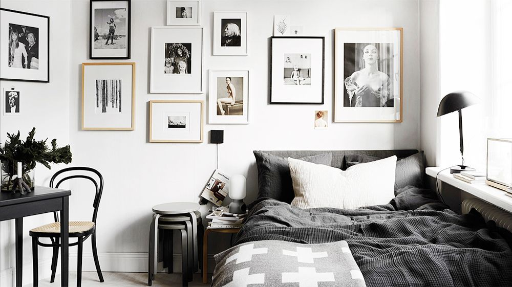 30 best black and white decor ideas black and white design - Black And White Bedroom Decor