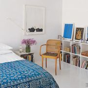 Room, Interior design, Bed, Textile, Wall, Furniture, Linens, Bed sheet, Bedding, Paint,