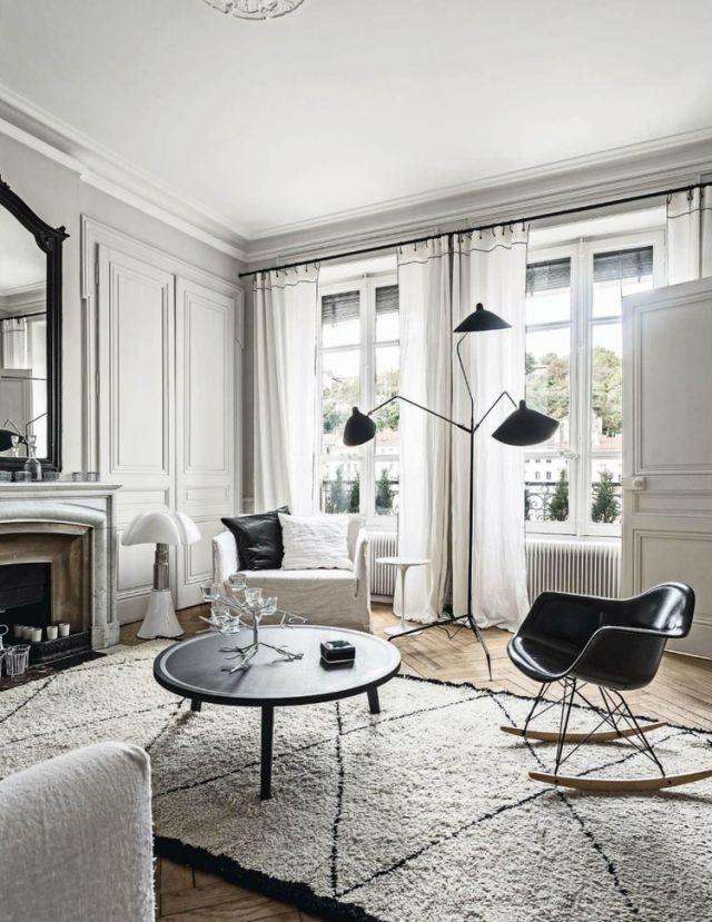 Black And White Decor. Felix Forest. Black And White Living Room