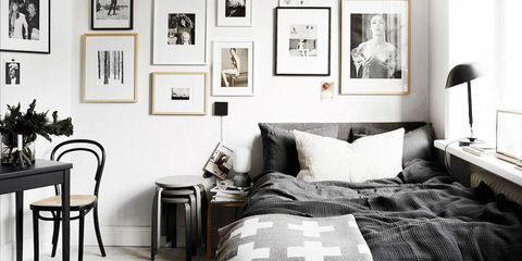 even - Black And White Bedroom Decorating Ideas