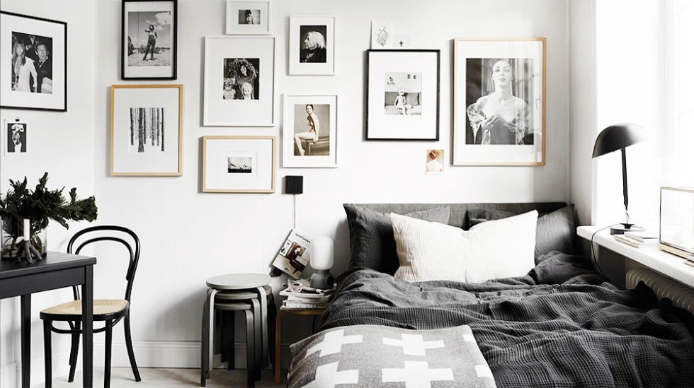 Charmant Black And White Decor