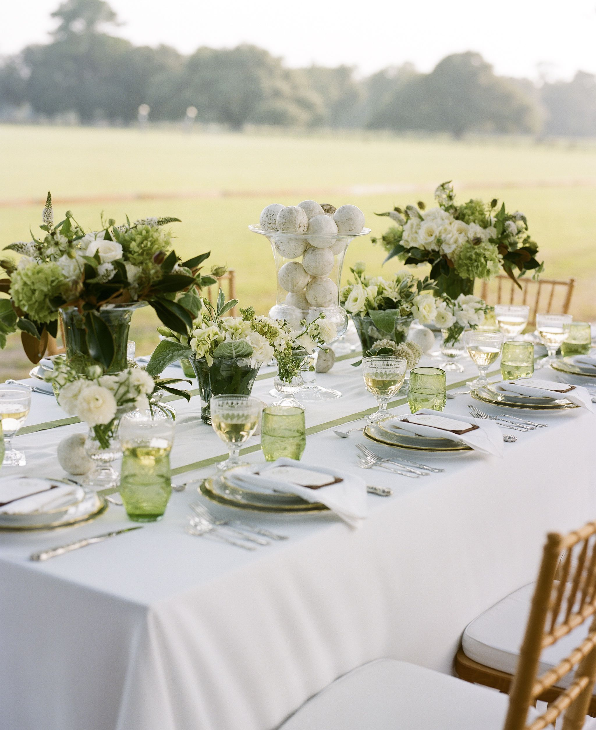 Spring Wedding Inspiration - Spring Table Ideas