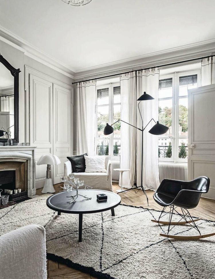35 best black and white decor ideas black and white design - Black White Living Room Decor