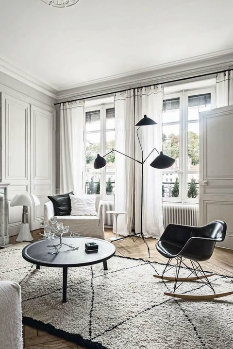 44 Striking Black White Room Ideas How To Use
