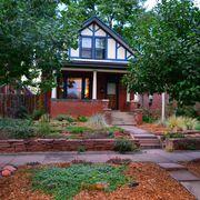 Plant, Property, Landscape, Garden, House, Shrub, Door, Building, Real estate, Soil,