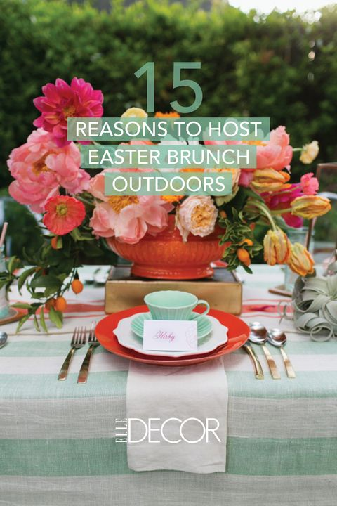 Outdoor Easter Decorations Easter Brunch Decor