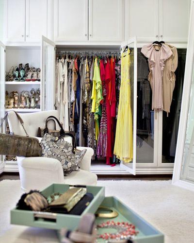 Inside Celebrity Walk In Closets