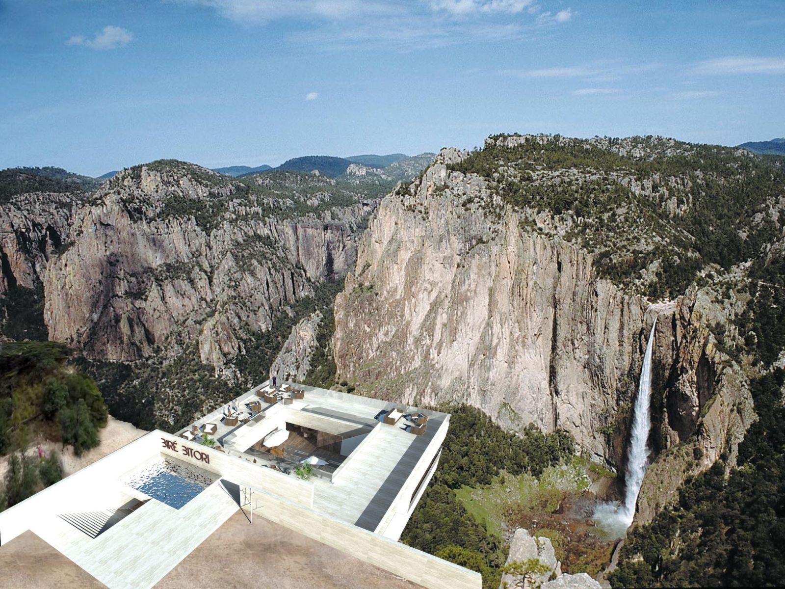 This New Restaurant Proposal Takes Cliffside Dining To New Heights