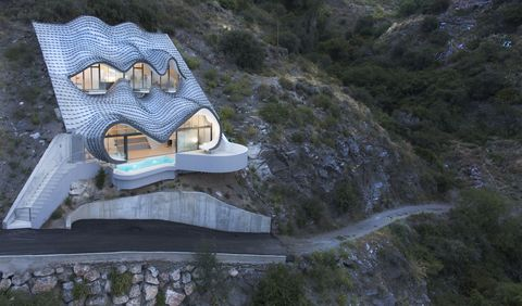 This Cliffside House Is Not For The Faint Of Heart