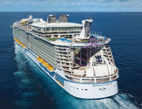 The World's Largest Cruise Ship Has Officially Set Sail