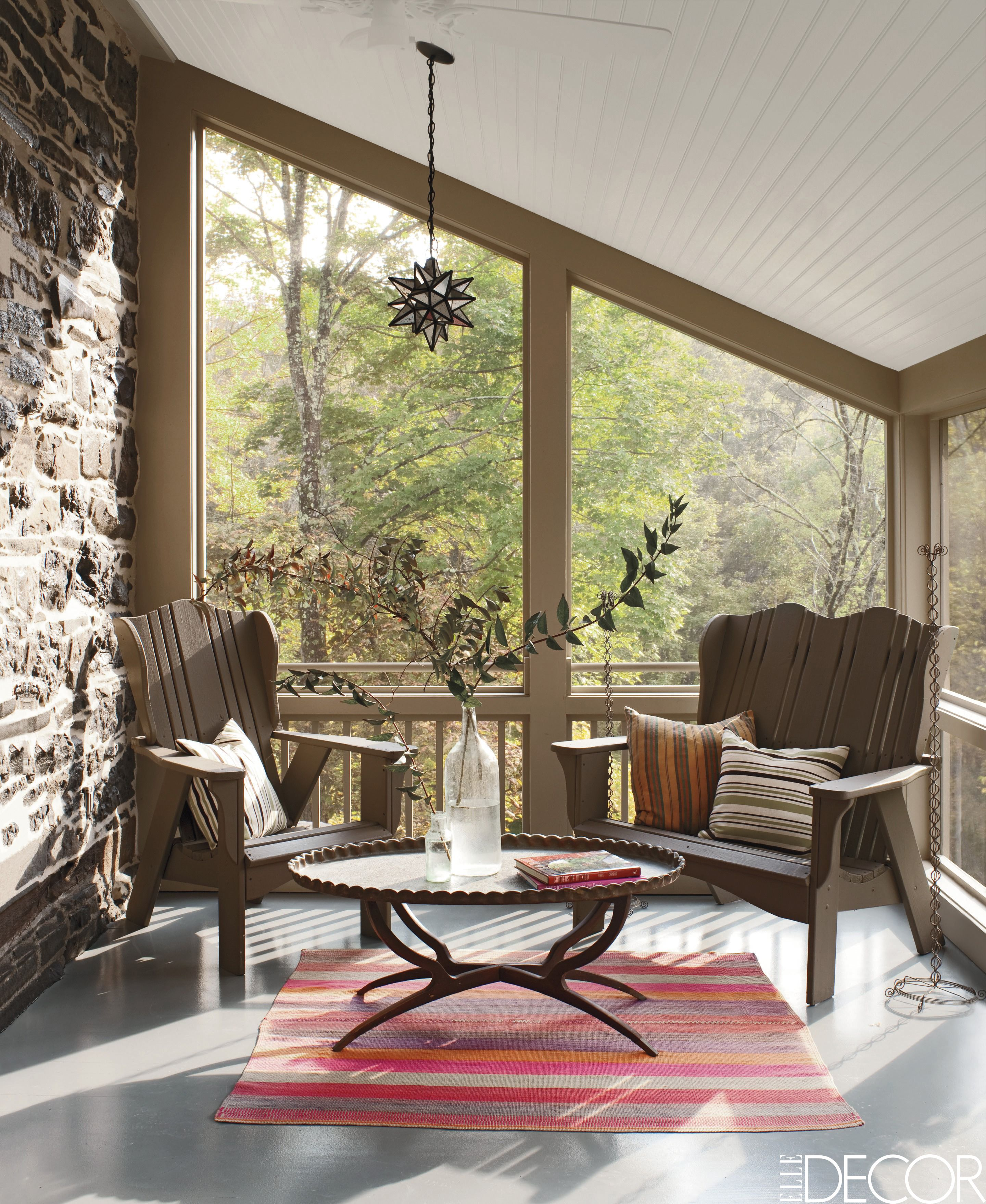 Awesome Screened In Porch Furniture