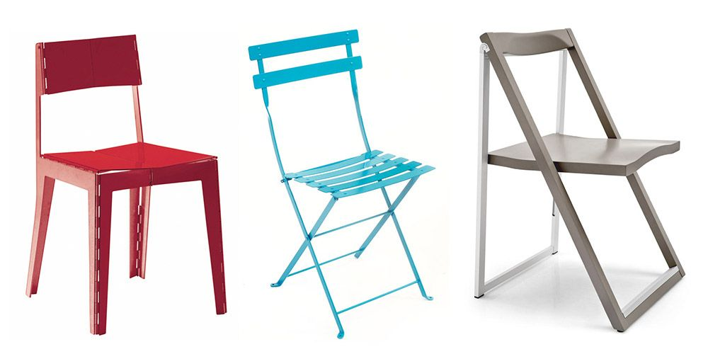 best modern folding chairs - designer fold up chair ideas