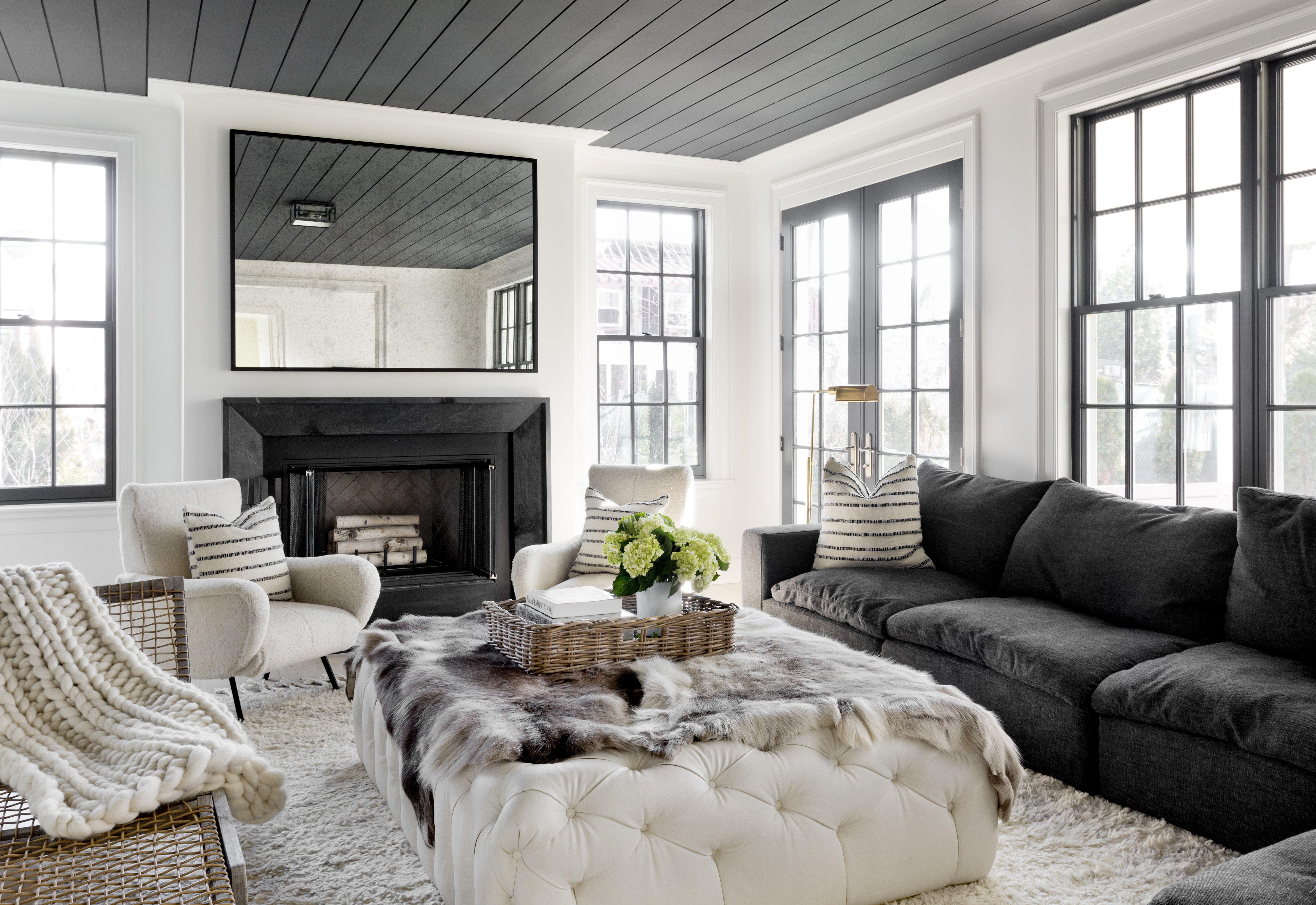 Black And White Decor KidFriendly Design