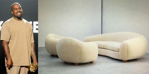 Sleeve, Floor, Flooring, Interior design, Wall, Beige, Beard, Sculpture, Futon pad,