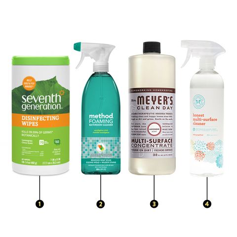 feng shui: cleaning supplies