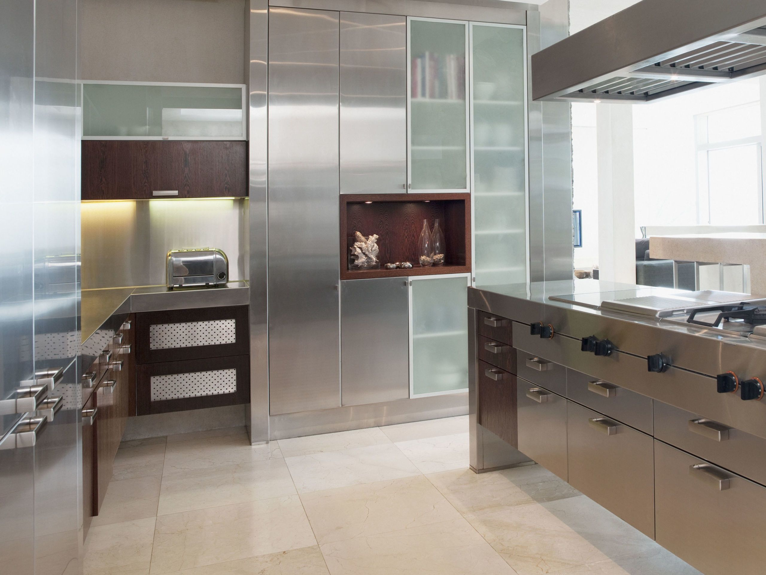 Best Stainless Steel Kitchen Cabinets