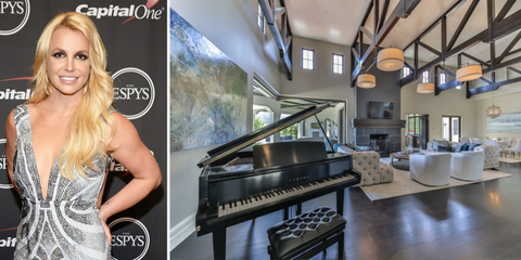 Britney Spears Lists CA Home