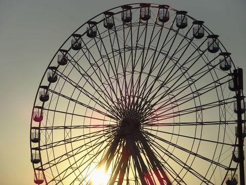Ferris Wheel In Ocean City New Jersey