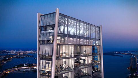 Commercial building, Transparent material, Evening, Shelf, Shelving, Island, Dusk, Display case,