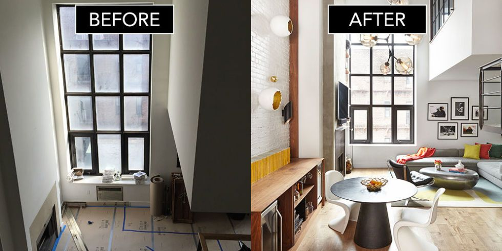 Before After Soho Duplex Decor Aid Makeover