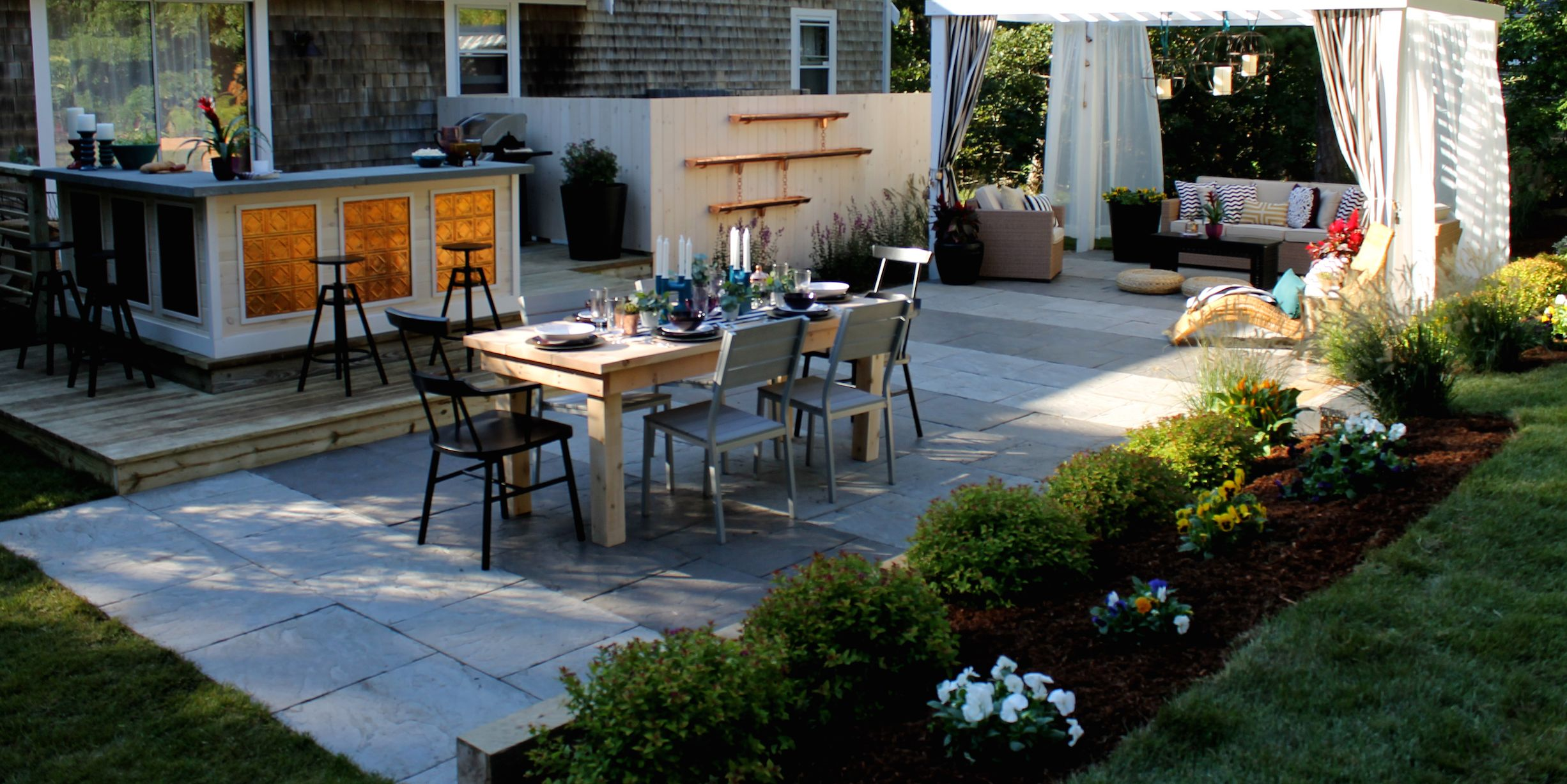 Landscaping ideas for a low maintenance yard