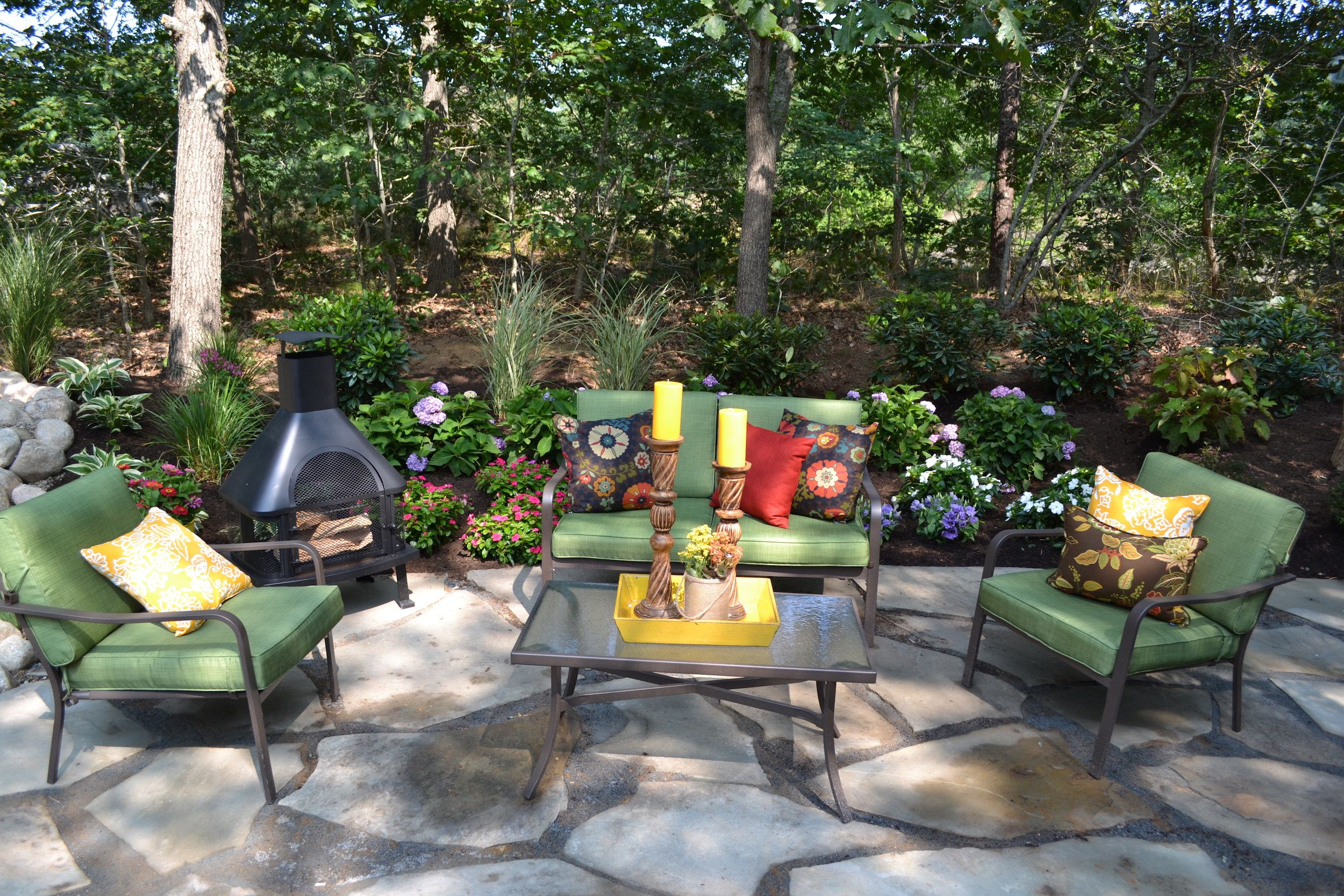 17 Low Maintenance Landscaping Ideas U2013 Chris And Peyton Lambton Backyard  Design Tips
