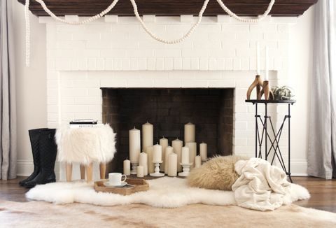 12 Decorating Ideas For Nonworking Fireplace Design - Living ...