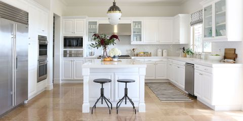 how white kitchen cabinets can update a space - Kitchen Remodels Ideas