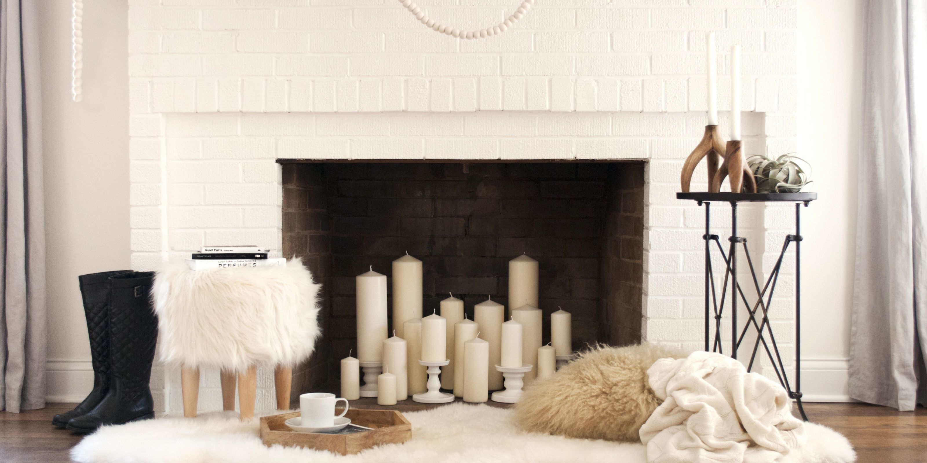 12 Decorating Ideas For Nonworking Fireplace Design - Living Room ...
