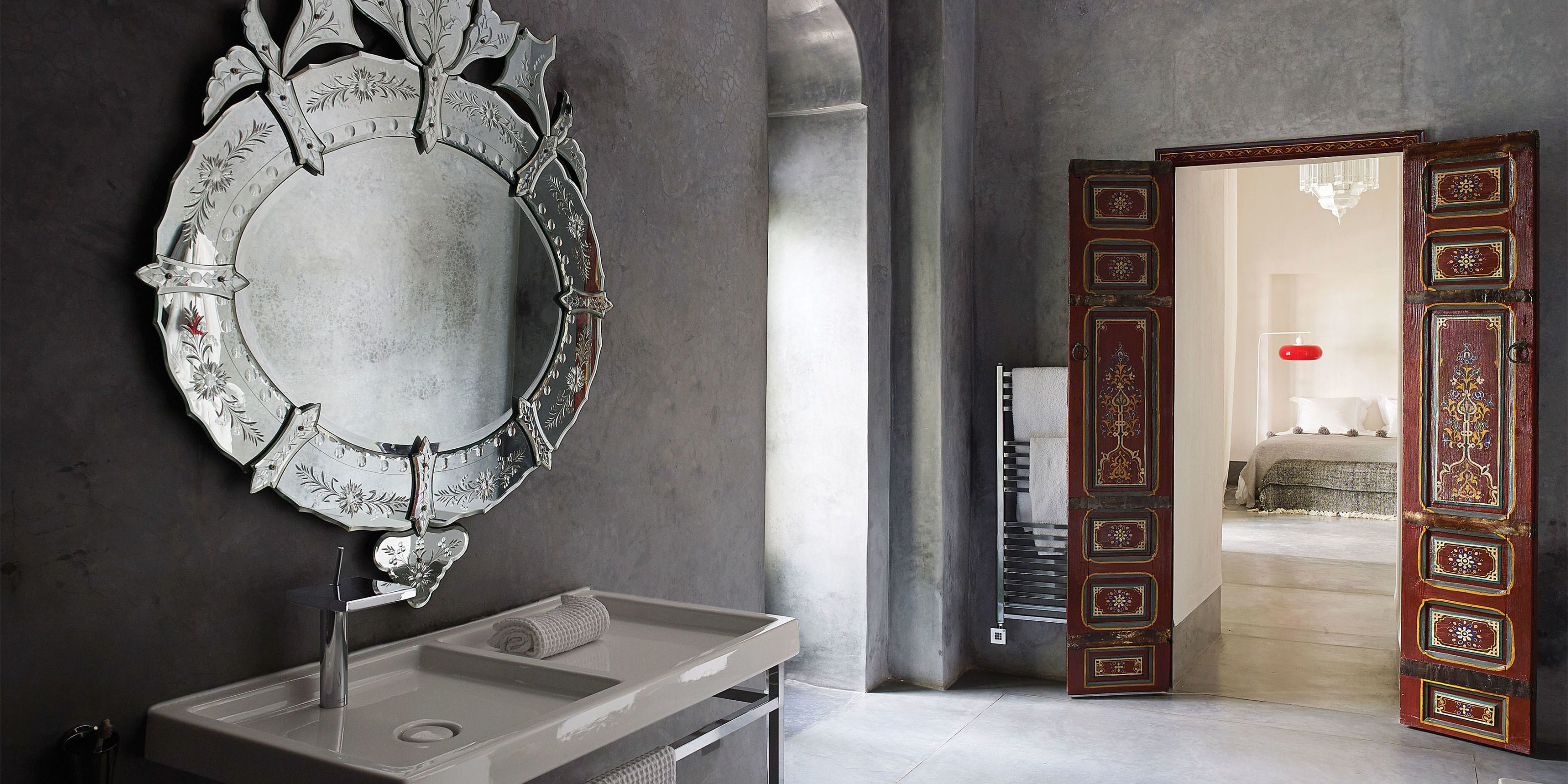 20 Bathroom Mirrors To Inspire Powder Room Design