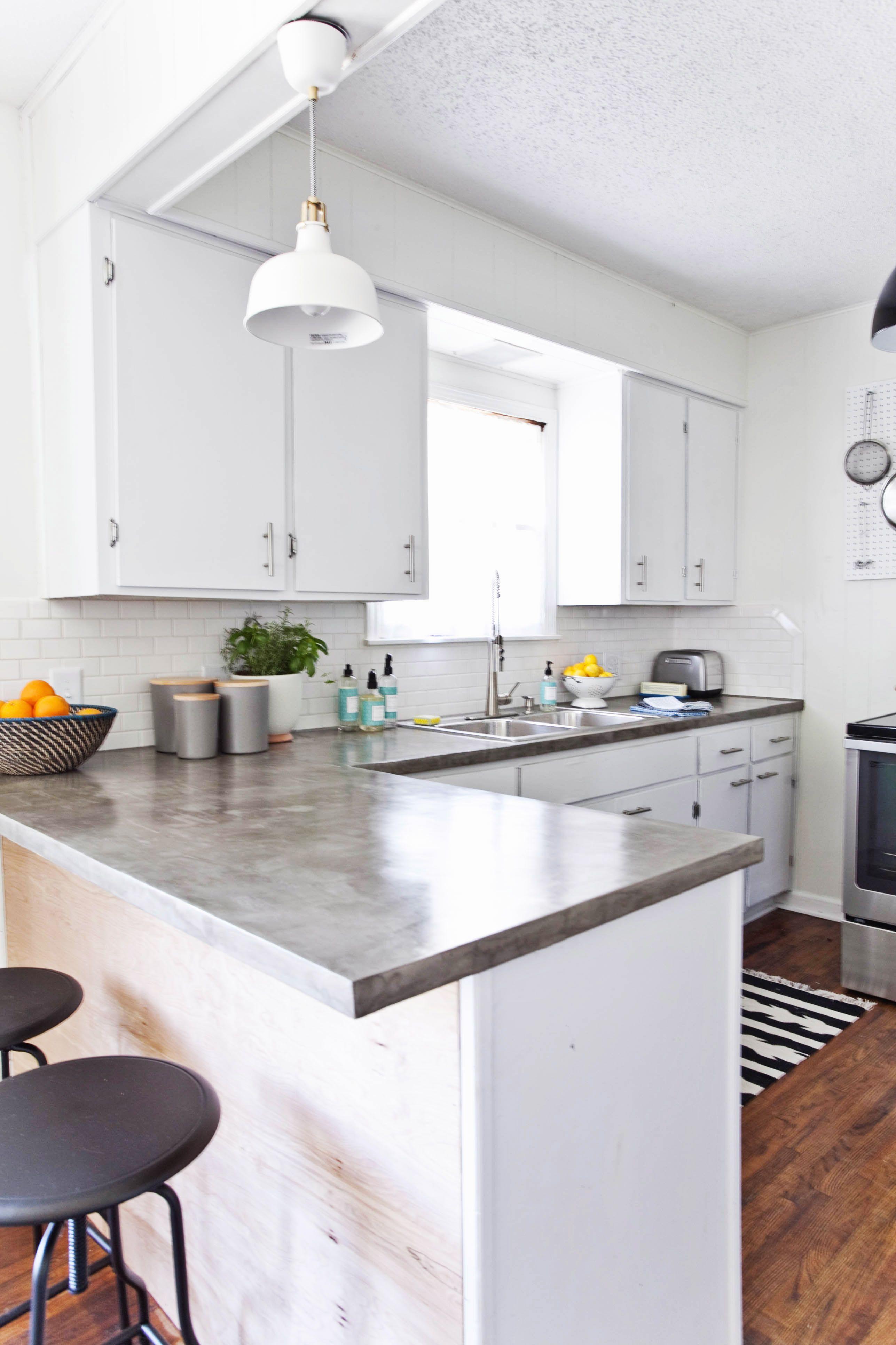 Elle Decor & 14 Best White Kitchen Cabinets - Design Ideas for White Cabinets
