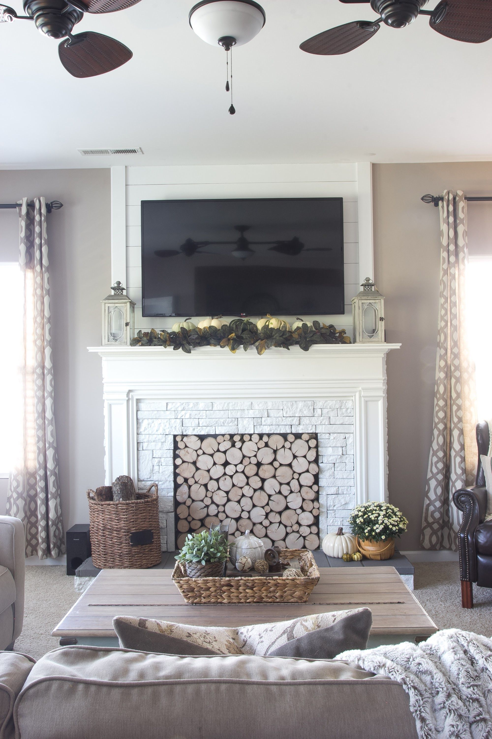 12 decorating ideas for nonworking fireplace design living room