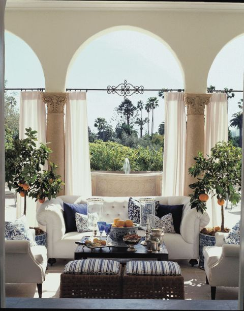 Chic Patio Design Ideas - Patio Decorating Tips from Designer Mary ...