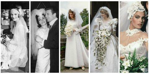 Clothing, Petal, Yellow, Sleeve, Dress, Event, Bridal clothing, Photograph, Wedding dress, Bride,