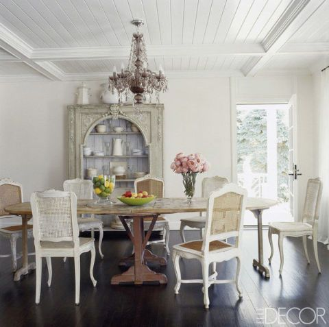 Room, Interior design, Floor, Furniture, Table, Flooring, White, Ceiling, Dining room, Chair,