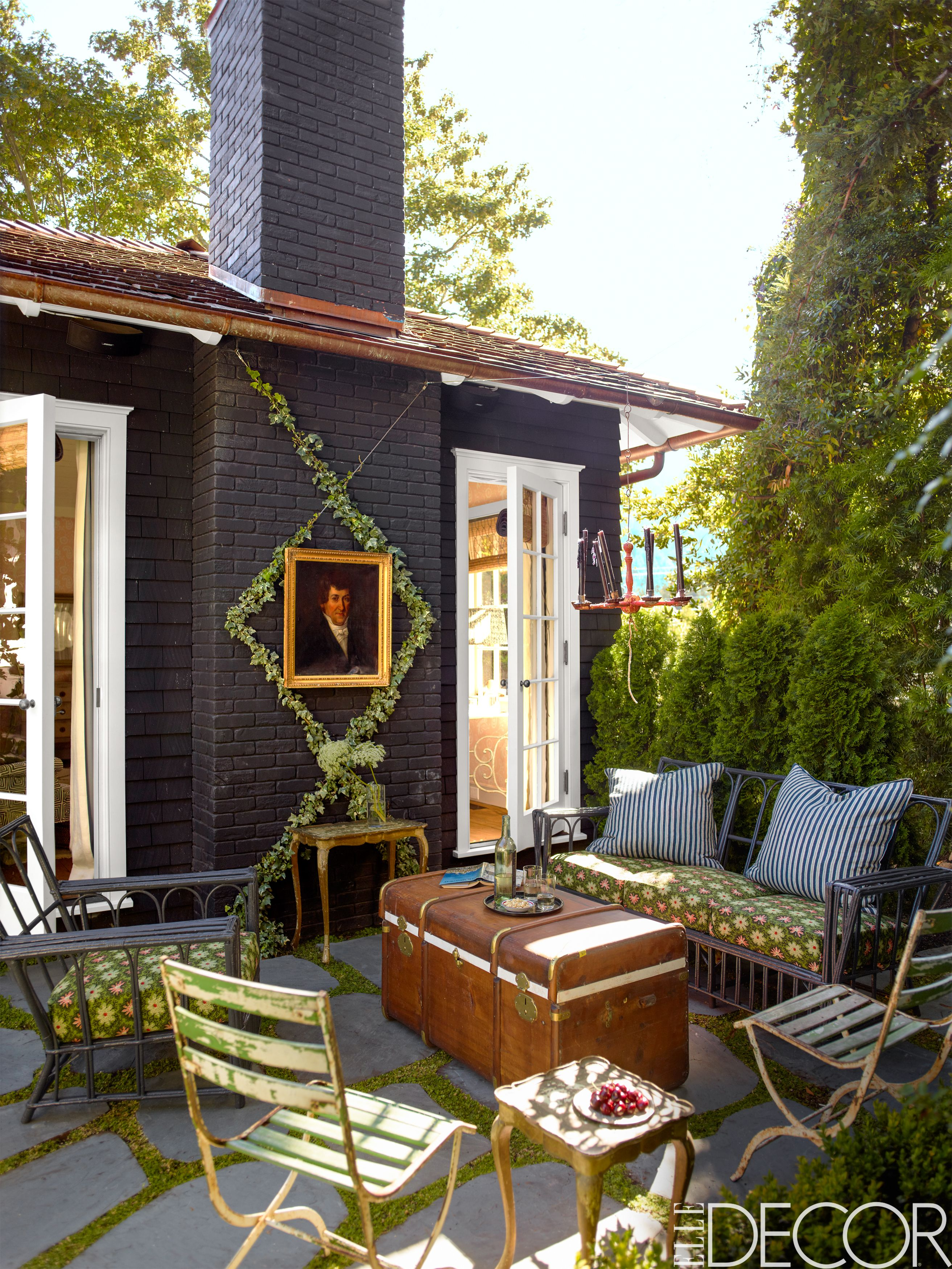 Patio ideas and porch ideas & 35 Porch Decorating Ideas - Front and Back Porch Design Pictures