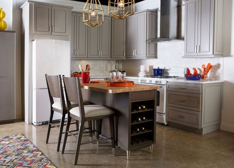 Rachael Ray Home Collection The Kitchen Island And Chairs