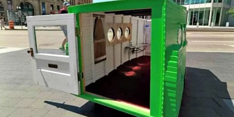 """You Can Now Rent The """"Smallest House In The World"""""""