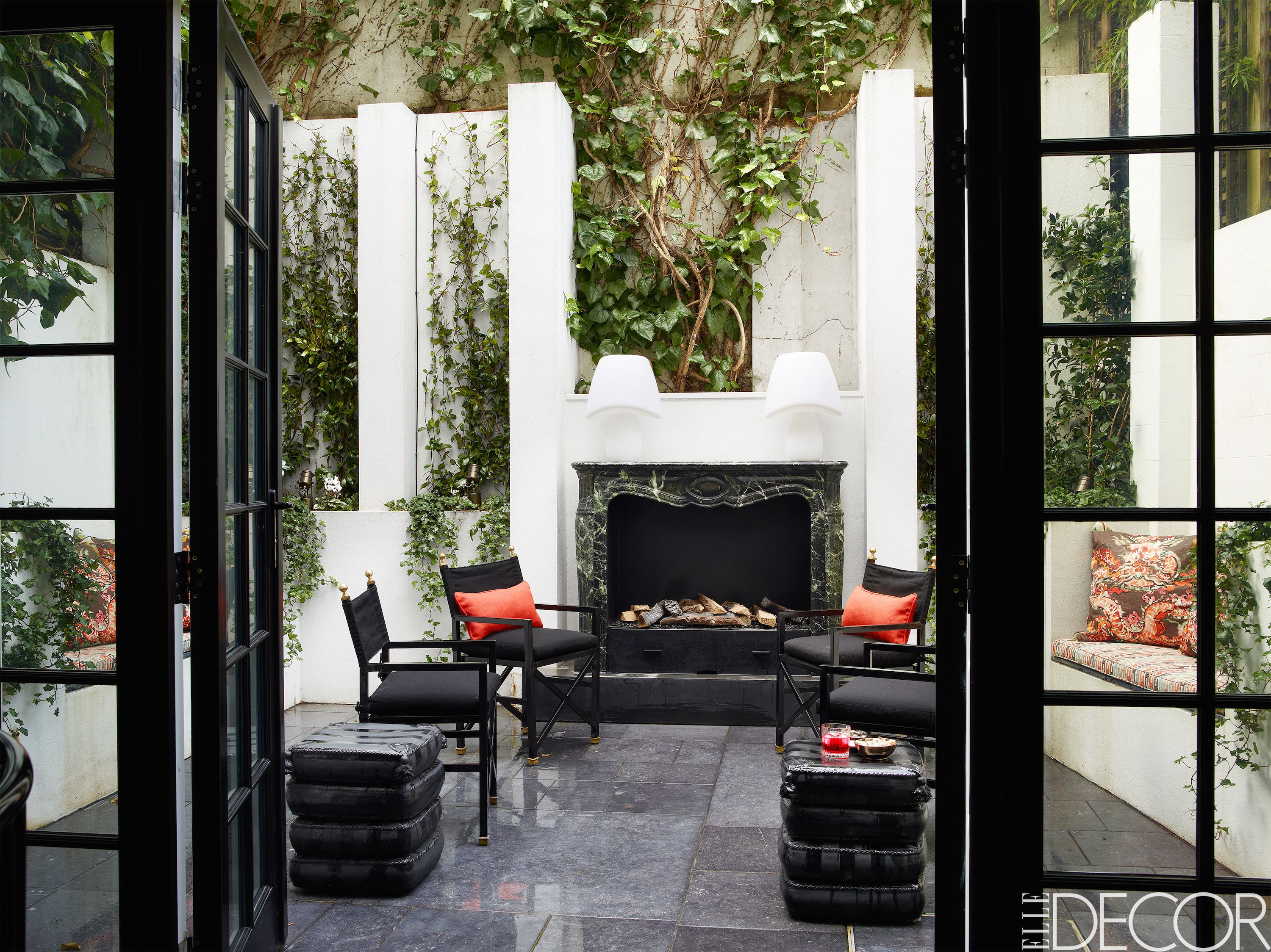 12 outdoor fireplace design ideas best backyard fire pits