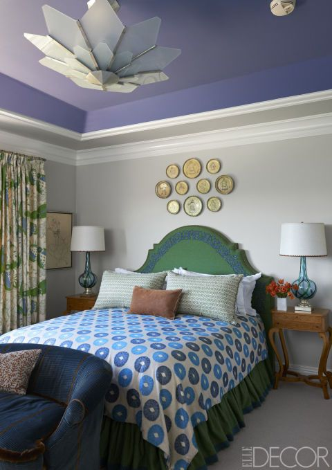 Blue Green Bedroom olive green paint color & decor ideas  olive green walls