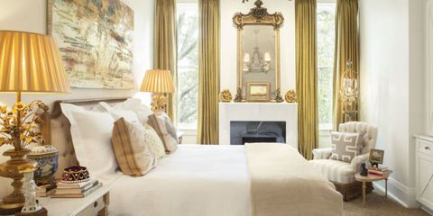 from sheer to silk drapery adds the finishing touch to these soothing rooms