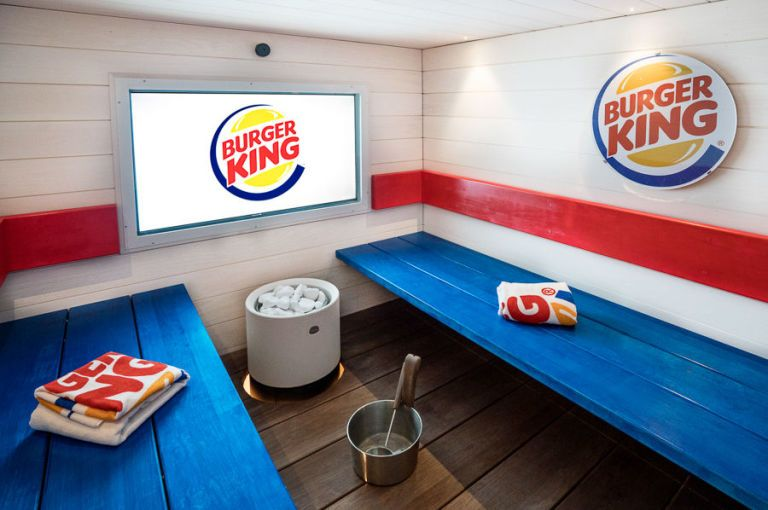 Finnish Burger King Is Heating Up Its Fast Food Game With A Sauna