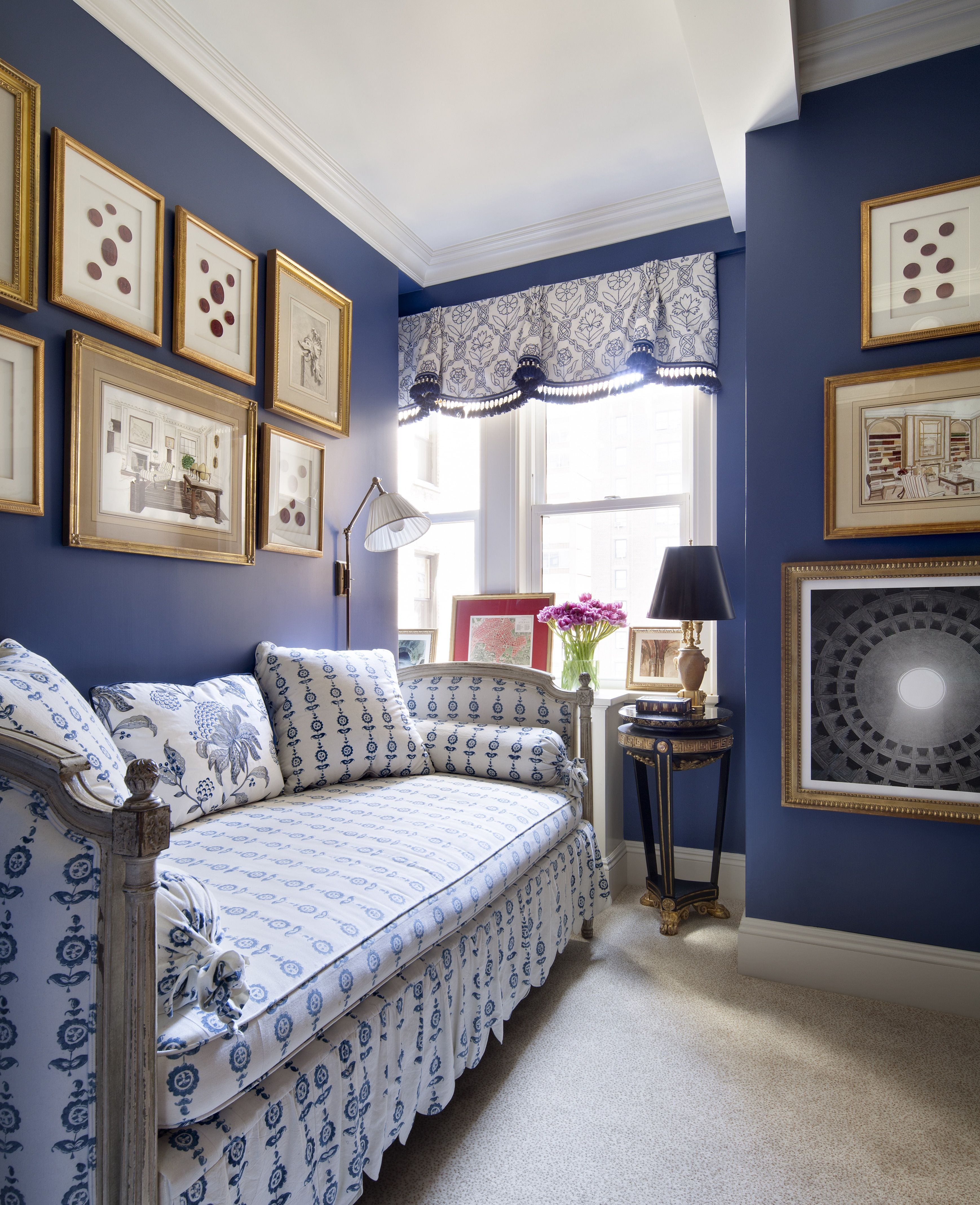 Principal bedroom in an historic home with an interior inspired by - A List Interior Designers From Elle Decor Top Designers For Home Interiors