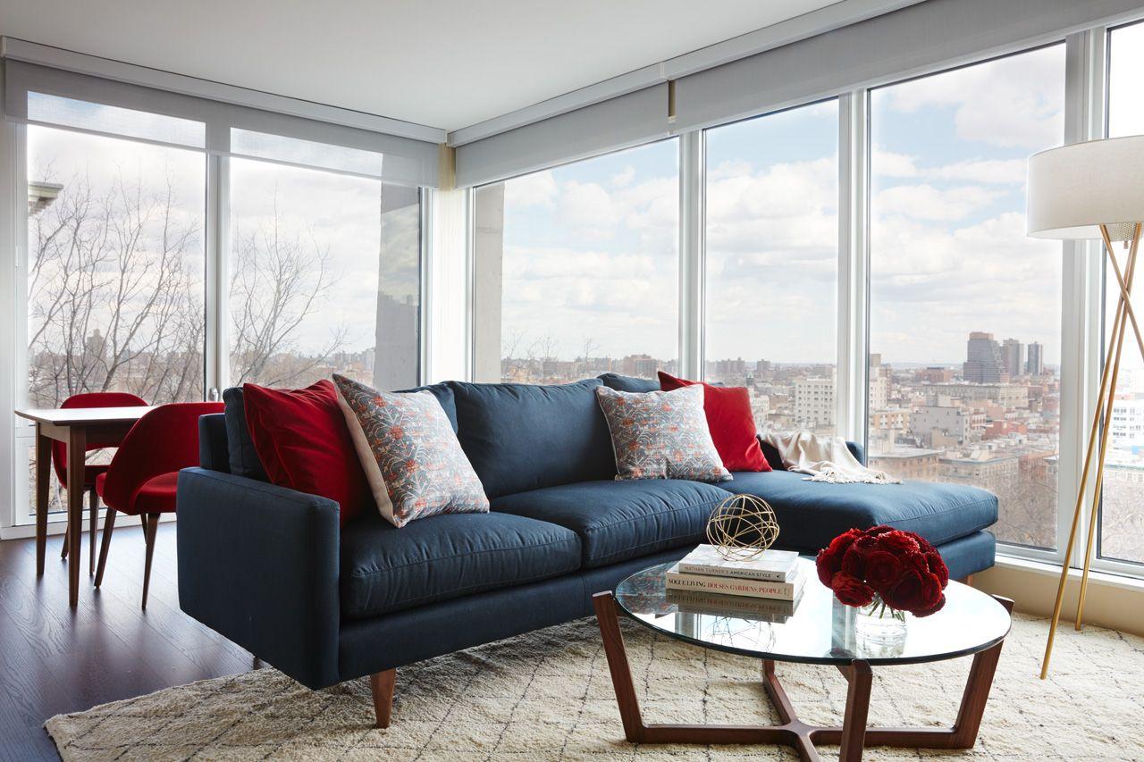 Red, White, And Blue Color Scheme Interior Design - Interior Design ...