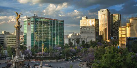 Tower block, City, Cloud, Metropolitan area, Urban area, Neighbourhood, Commercial building, Cityscape, Condominium, Metropolis,