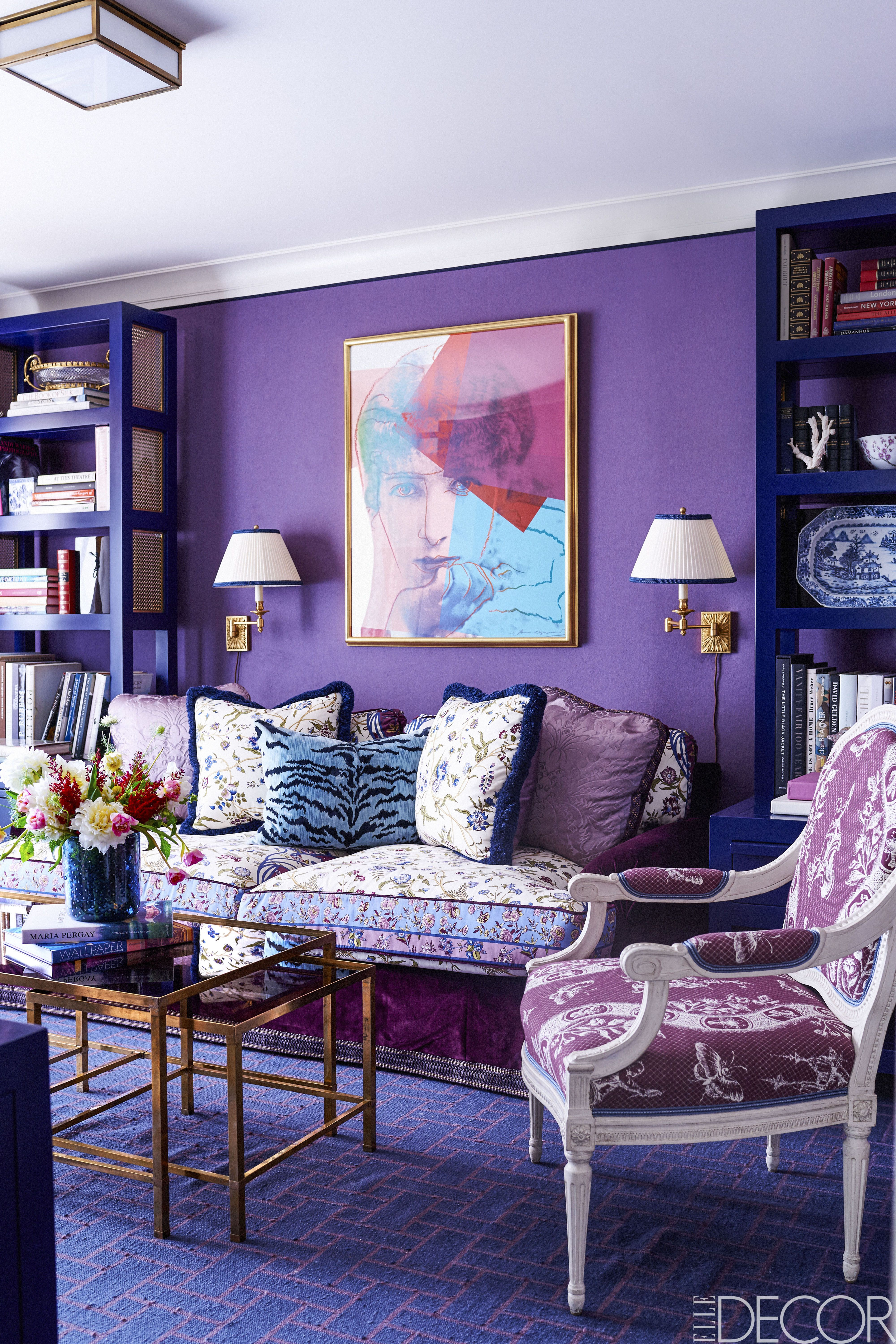 image & 21 Best Purple Rooms \u0026 Walls - Ideas for Decorating with Purple