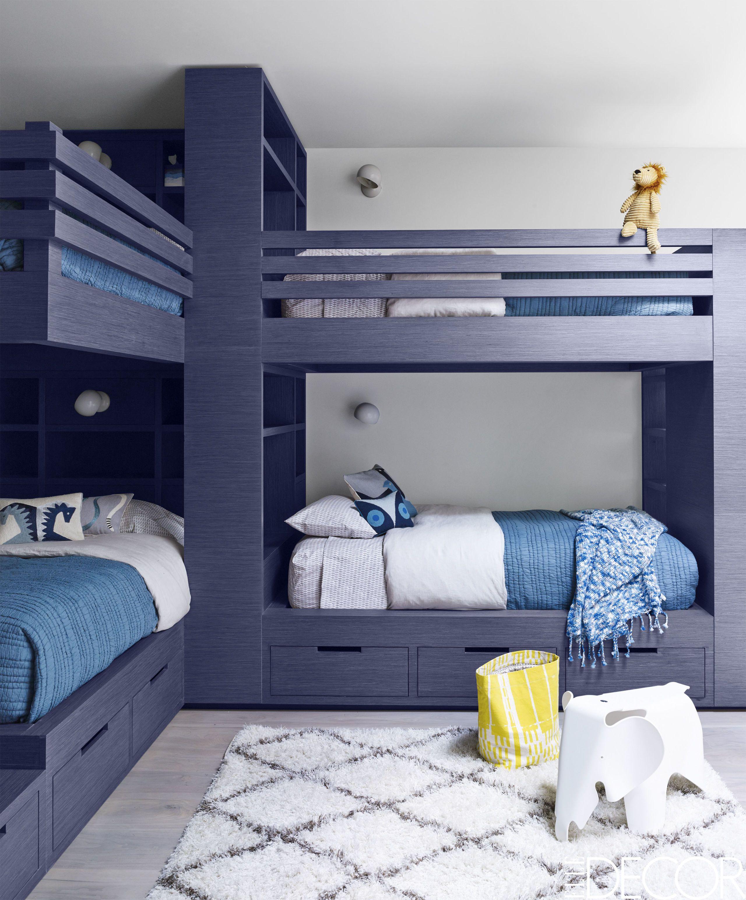 Boys Bedroom Ideas. Björn Wallander. Deep Blue Bunk Bed